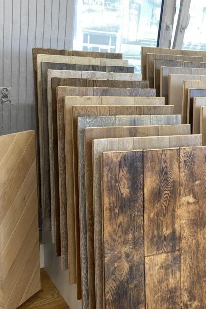 kolekcja postarzała dąb rustik salon podłóg drewnianych zdjecie produktu